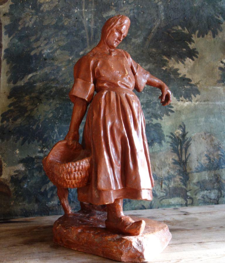 sculptures bretonnes - galerie Stephan -expertise-Perros-Guirec