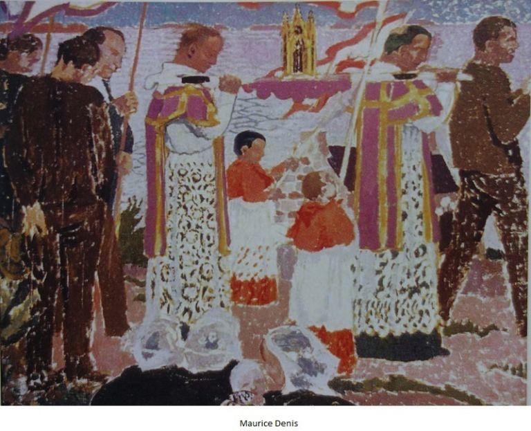 pardon de Perros-Guirec au reliquaire - Maurice Denis
