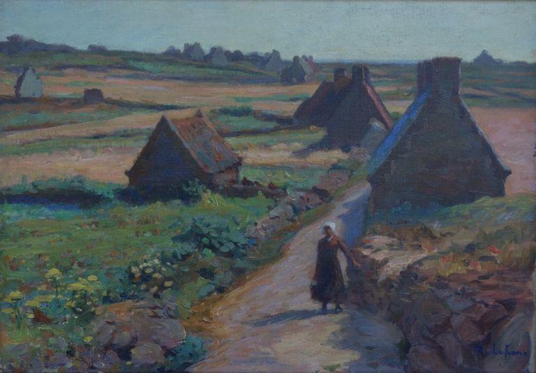 Raymond Lefranc - La lande à Ploumanach - galerie Stephan-expertise
