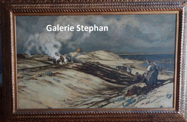 André Dauchez - les goémoniers- galerie Stephan-expertise