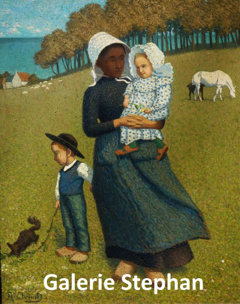 Albert Clouard- La prairie - galerie Stephan-expertise