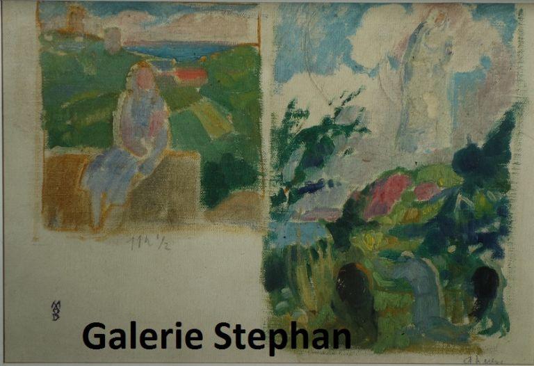 Maurice Denis - Galerie Stephan Expertise-Perros-Guirec