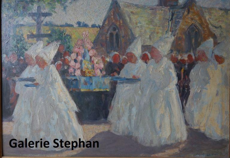 Charles Cottet - galerie Stephan expertise