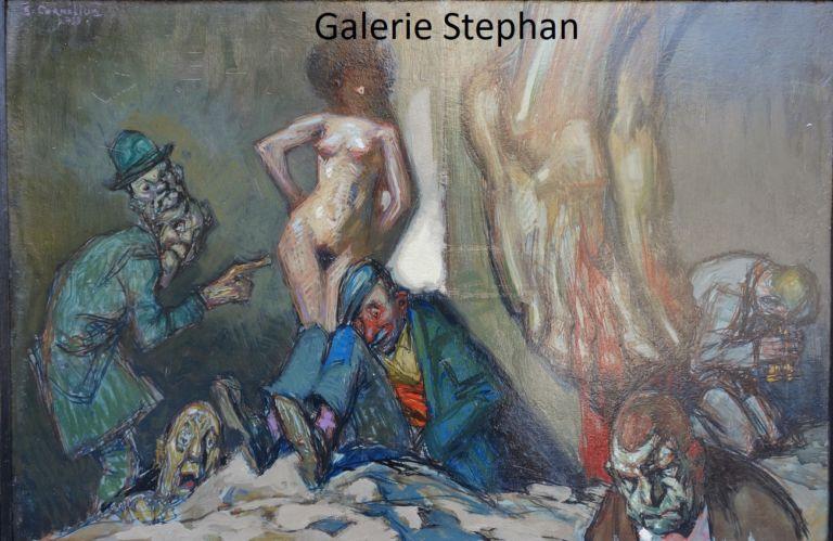 Jean Georges Cornelius - rédemption inutile. galerie Stephan-expertise